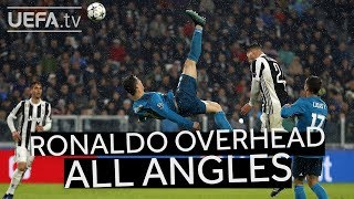 Cristiano Ronaldo Overhead Kick From All Angles!! #goaloftheseason