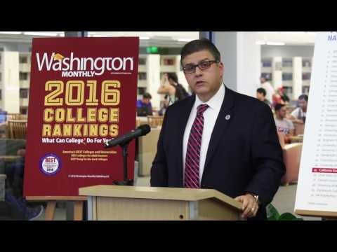 Fresno State ranked 25th nationally in Washington Monthly