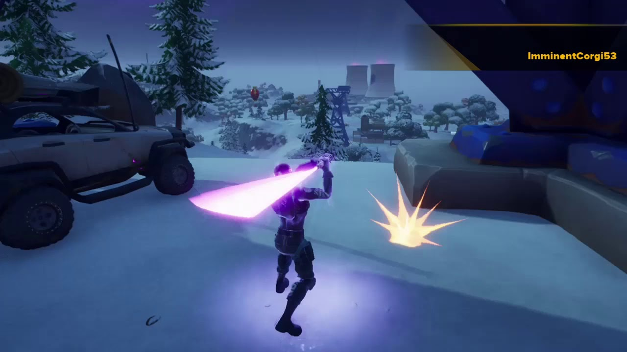 Fortnite Epic Winterfest Victory Royal (CLEAN) LightSabors ...