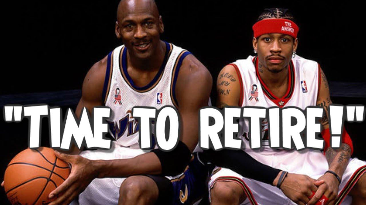 How Allen Iverson ended Michael Jordans Career
