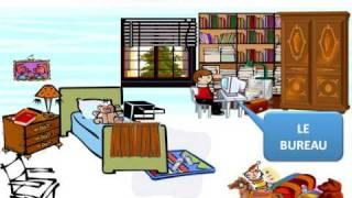 Ma chambre : Vocabulaire