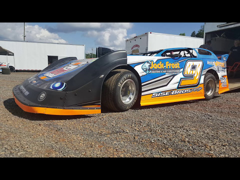 #9 Zach Sise - Sportsman - 5-13-17 Smoky Mountain Speedway - In-Car Camera