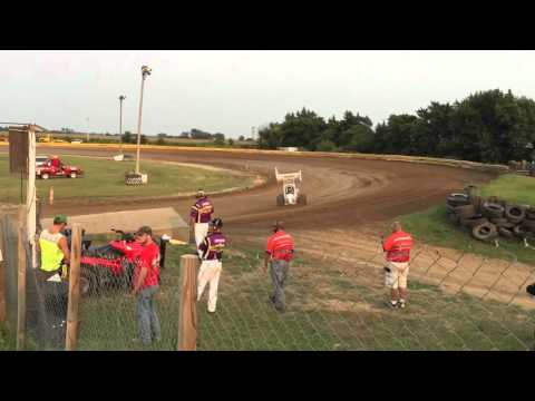 Sprint Series of Nebraska Racesaver 305 Heat Race 8 30 15