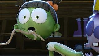 Funny Animated Cartoon | Spookiz | Head Came Off  | 스푸키즈 | Cartoon for Children