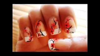 Простой маникюр на ваших ногтях(Ногтевая пластинка – это настоящее мини-полотно, на котором наши женщины и стилисты ухитряются создавать..., 2014-08-15T17:21:13.000Z)