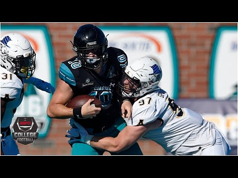 Appalachian State Mountaineers vs. Coastal Carolina Chanticleers | 2020 College Football Highlights