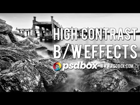 Landscape Editing - Quick BW Effects