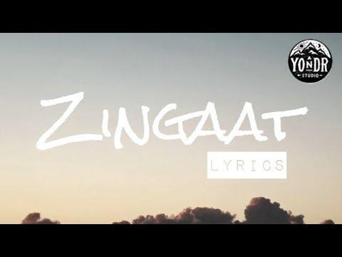 Zingaat Hindi (lyrics) | Dhadak | Ishaan & Janhvi | Ajay-Atul | Amitabh Bhattacharya