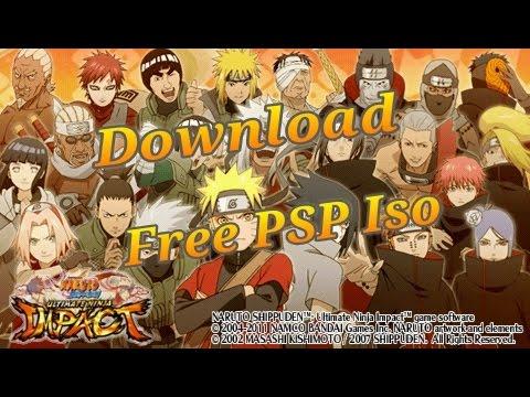 Naruto Shippūden: Ultimate Ninja Impact PSP ISO Free Download [quick, Easy And NO .rar Files!!]