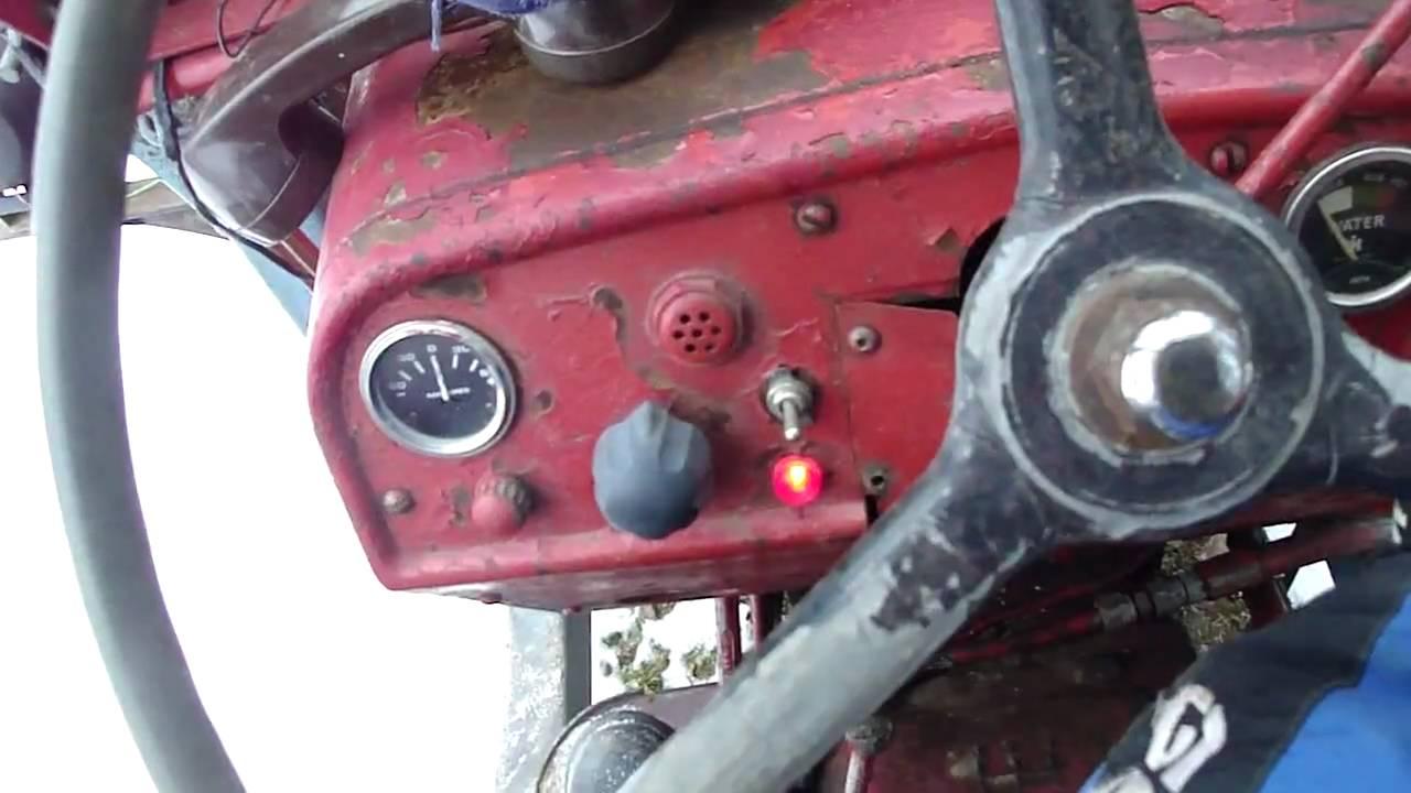 1963 Chevy Starter Wiring Diagram International B275 Tractor Cold Start Youtube