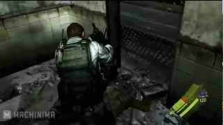 Resident Evil 6 Chris Redfield Character Gameplay