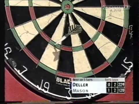 Keith Deller v Chris Mason - 2000 World Grand Prix Darts