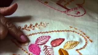 Caderno de bordados Patchaula