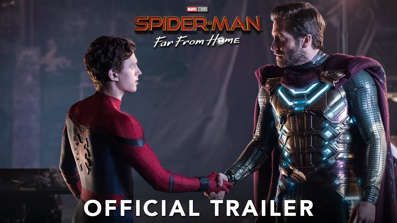 Spider man far from home online movie trailer