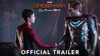 SPIDER-MAN: FAR FROM HOME - Official Trailer thumbnail