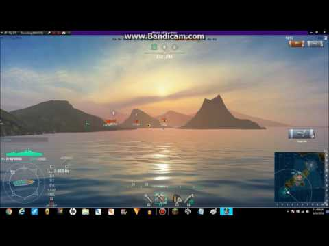 world of warships the Wyoming and Dresden