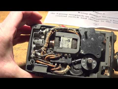 Bell & Howell US Navy BU of Ord 16mm WWII Gun Camera Operation