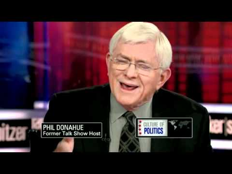 Phil Donahue: Corporate media stifles dissent