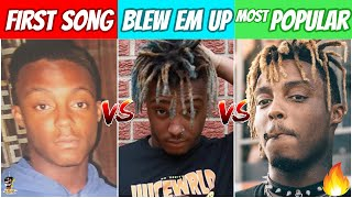 Rappers FIRST SONG vs SONG THAT BLEW THEM UP vs MOST POPULAR SONG! (2020 Edition)