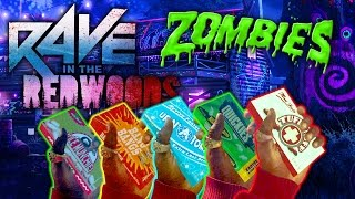 Rave in the Redwoods No Perk Challenge (Call of Duty Zombies: Infinite Warfare)