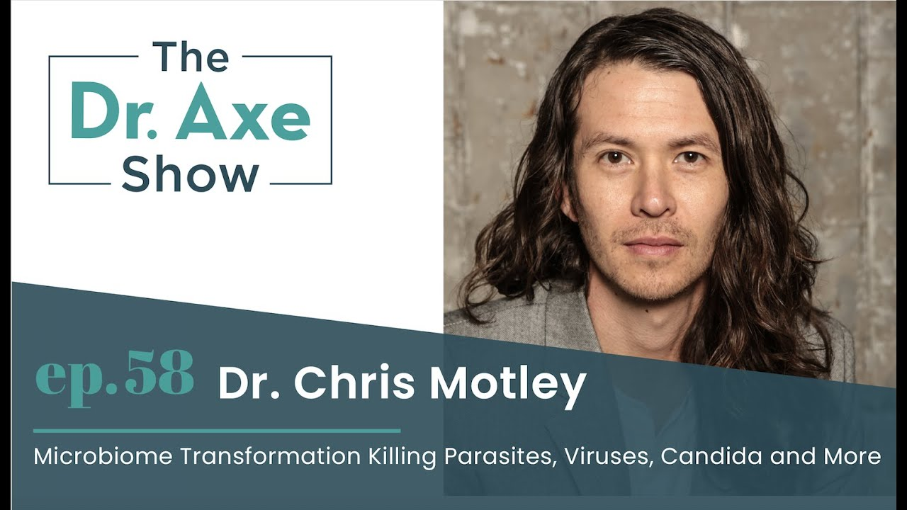 Microbiome Transformation Killing Parasites, Candida and More | The Dr. Axe Show Podcast Episode 58