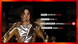 Michael Jackson Live History World Tour Copenhagen 1997 (60fps)