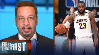 Chris Broussard on 2011 vs. 2020 LeBron, he's mentally stronger today | NBA | FIRST THINGS FIRST
