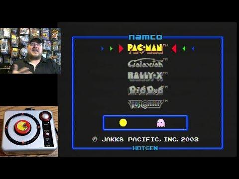 Namco Pac-Man Jakks Pacific Plug & Play Mini Pocket Edition - Game Play