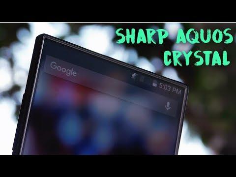 Smartphone Bezeless Pertama Di Dunia : Sharp Aqous Crystal Review After 4 Years Ago