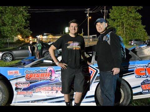 Superman Collen Winebarger interview @ Willamette Speedway 2017