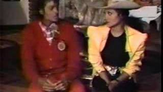 "Michael Jackson Performs ""Forever"" & talks with Latoya"