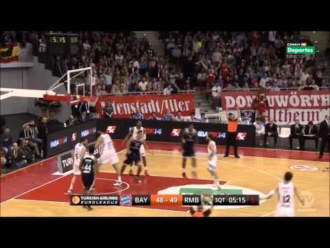 Malcolm Delaney - Euroleague TOP 16 2013-14