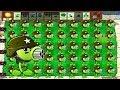 Plants vs Zombies Gatling Pea Mod vs 66666 Zombie Conehead