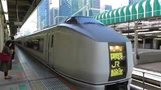 651系 特急草津71号 長野原草津口行き 東京駅発車