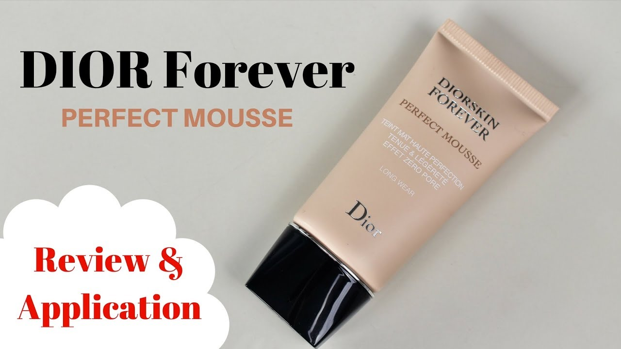 a0501c75bd New DIOR Forever Perfect mousse | Review & Application | Angela van Rose