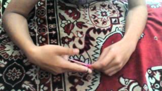 Видео урок как плести браслет #2 Дружба!