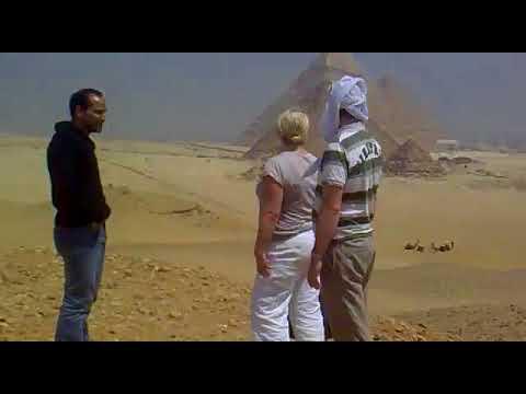 Moustafa Sanad is a tour guide in Cairo, Alexandria