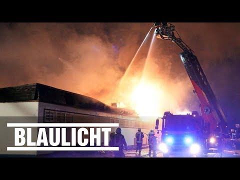 Großeinsatz für Feuerwehr in Sankt Augustin - Supermarkt in Vollbrand