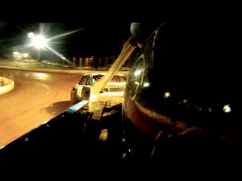 In-car camera of Donnie Patterson @ North Georgia Speedway