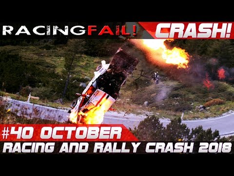 Racing and Rally Crash   Fails of the Week 40 October 2018