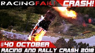 Racing and Rally Crash | Fails of the Week 40 October 2018