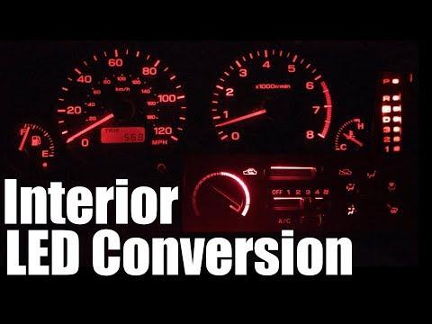 1999 Subaru Forester - Interior LED Conversion
