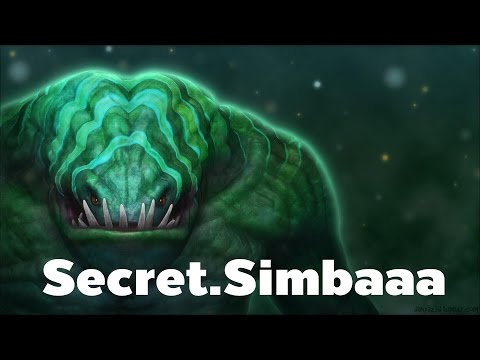 [Dota2] Team Secret Simbaaaaaa Plays Tide Hunter Offlane vs Team HR