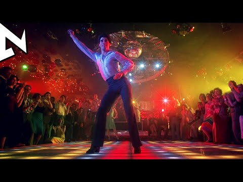 John Travolta is dancing -⭐️- Saturday night fever (1977) [HD]