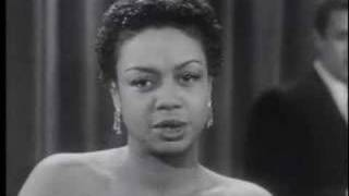 Hazel Scott for the March of Dimes