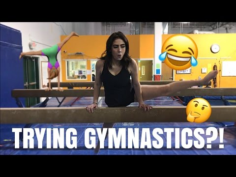 NON-GYMNASTS TRY GYMNASTICS