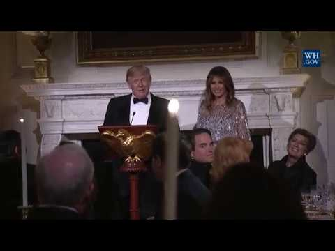 President Trump and The First Lady Host the White House Historical Association Reception