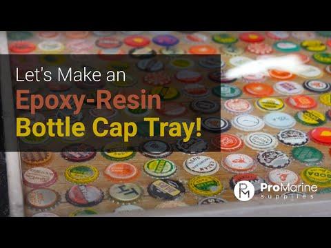 Pro Marine Supplies Epoxy Bottle Cap Tutorial