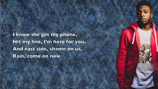 Isaiah Rashad - 4r Da Squaw - Lyrics