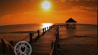 1 HOUR Calming Meditation Music & Ocean Waves Crashing for Positive Energy & Anxiety